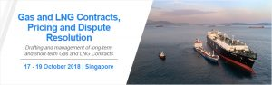 Gas and LNG Contracts - 17 - 19 Oct