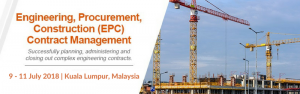 Engineering, Procurement and Construction Masterclass