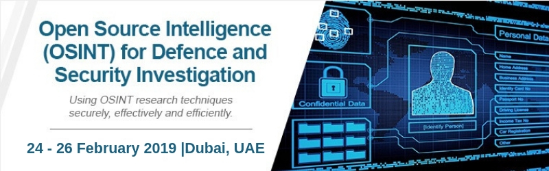 Open Source Intelligence (OSINT) for Defence and Security