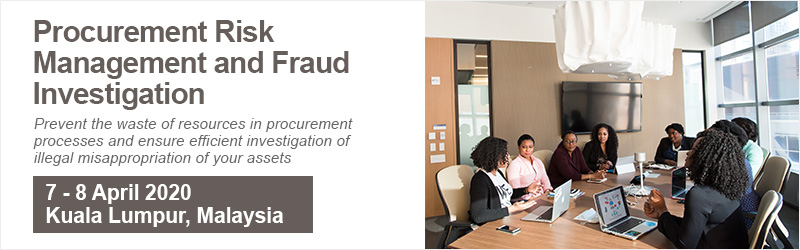 Procurement Risk Management and Fraud Investigation