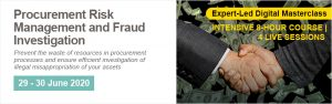 Procurement Risk Management and Fraud Investigation - Online