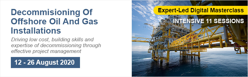 Decommissioning Of Offshore Oil And Gas Installations-Online