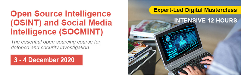 Open Source Intelligence (OSINT) and Social Media Intelligence (SOCMINT) Online (1)