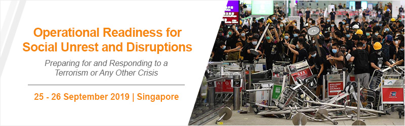Operational Readiness for Social Unrest and Disruptions