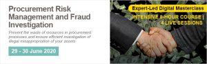 Procurement Risk Management and Fraud Investigation - Online